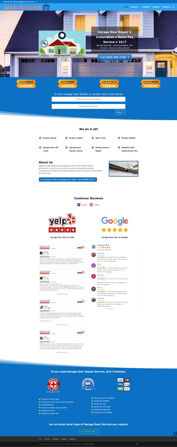 אתר אינטרנט לבעל מקצוע